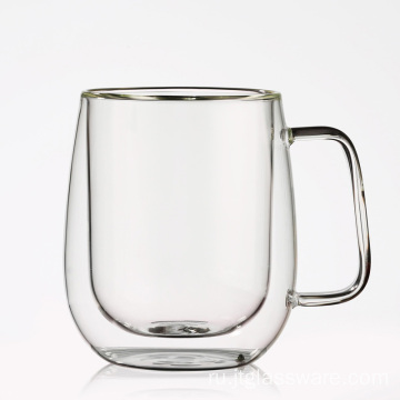 Drinking Glassware Clear Glass Coffee Cups