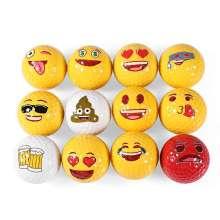 Подарок Мяч для гольфа Emoji Мяч для гольфа Custom Pattern