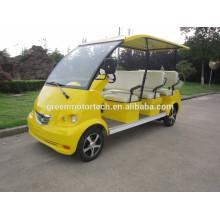4seats 48v elektrischer Streifenwagen kleiner Shuttle-Bus zu verkaufen