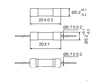 1.25 amp high breaking capacity fuse