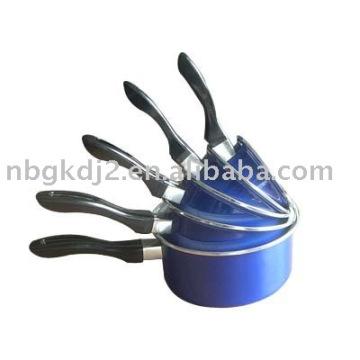 enamel sauce pan sets