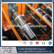 Fabricación flexible de la tapa del canto del techo de la producción de aluminio hecho en China, productor de la máquina del casquillo del canto.