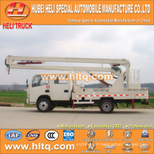 DONGFENG 4x2 HLQ5050GJKE ascenseur monté sur camion 10M prix bon marché vente chaude à vendre