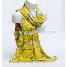 Bufanda viscosa de las señoras de la impresión floral de la manera