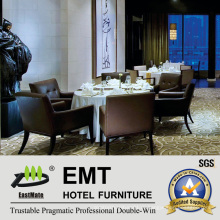 Пятизвездочный ресторанный столовый гарнитур (EMT-HTB06-1)
