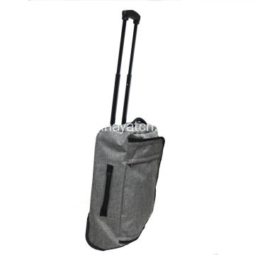 Ukuran Cabin Snow Flake Fabric Trolley Bag
