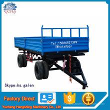 Remorque de ferme de 10 tonnes pour tracteur Yto