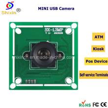 HD 1.0megapixel cámara de vídeo USB del módulo para el quiosco ATM (SX-6130A)