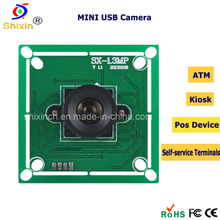 HD 1.0megapixel Video USB модуль камеры для банкомата киоск (SX-6130A)