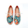 2016 nouvelles chaussures de toile femme design espadrille