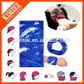 Multi-Röhre kundenspezifische Polyester nahtlose Schal Kopfbedeckungen