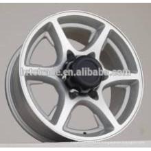 Roues en alliage du marché de HRTC Amérique 4x4 SUV roues en aluminium de voiture 15 * 7.0 et 16 * 7.0 Jantes de voiture