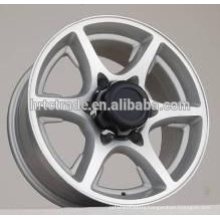 HRTC America market alloy wheels 4x4 SUV car aluminum wheels 15*7.0 and 16*7.0 Car rims