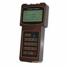 Portable Handheld Ultrasonic Flow Meter, Clamp-on Transducer Measuring Flowemeter Tuf-2000h