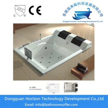 Acrylic jacuzzi bath spa bathtub