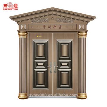 China factor villa decorative material steel Roman column