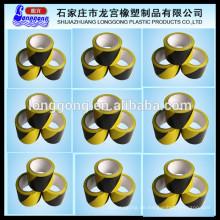 Bunte Bodenwarnung und Markierung Kunststoff PVC-Band / Abbaubare Vorsicht Band