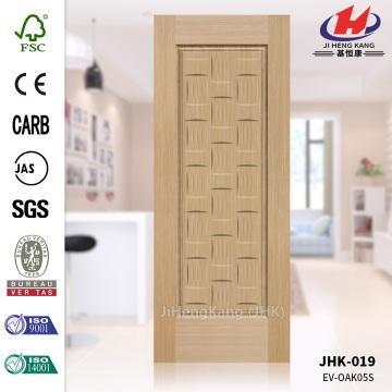 Living Room EV-Oak Veneer Moulded HDF Door Skin