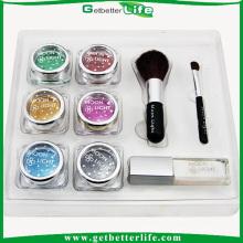 Vente en gros de 6 couleurs Kit temporaire tatouage peinture, kit de tatouage professionnel paillettes Getbetterlife