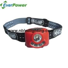 1 Watt LED + 4PCS Projecteur LED blanc / phare à LED (HL-1007)