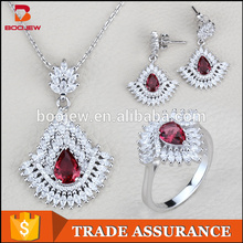 Nature Stone Handmade women jewelry set coral beads necklace jewelry 925 silver white gold plating african gl jewelry sets