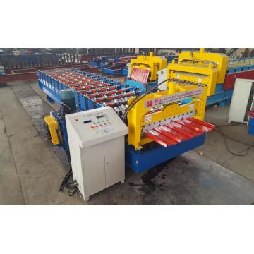 panel atap baja warna Trapezoidal Forming Machine