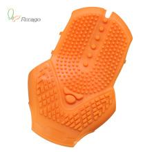 Gant de massage pratique et confortable en silicone