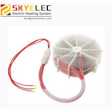 Elemento aquecedor elétrico de bobina de imersão em água de teflon 6kw