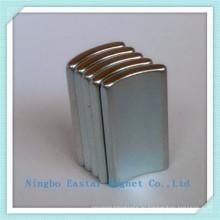 Редкие земли дуги форму сегмента магнит для двигателей постоянного тока