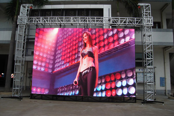 Outdoor Full Color P4.81 Rental LED Display