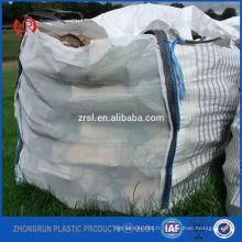 Sacs en vrac de granule de bois, granule en bois 1 tonne de grands sacs super