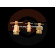 Válvula de coquilla de aire de latón y válvula de drenaje
