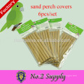 Hot selling Environmental protection gravel paper 6-Pack sand perch covers pet bird supplies