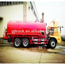 Camión del agua de la mina de Howot de 40000L Sinotruk / camión de riego minero / camión de riego de la mina / camión de espray de agua minero