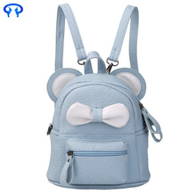 Ladies casual fashion small backpack