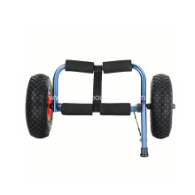 Folding Kayak Trailer Trolley Canoe Carrier Cart with Removable Wheels