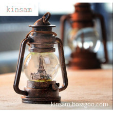 Best Selling Wholesale Gift Craft, Kerosene Lamps Restoring Ancient Ways Glass Craft for Sale