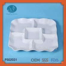 Plato, platos de cerámica de China, barato a granel placas de cerámica al por mayor