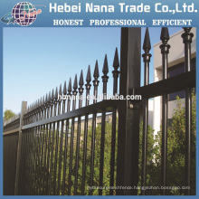 Galvanized steel fence for garden and warehouse