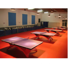 Ittf Certificate High Quality Cheap Indoor PVC Sports Roll Floor /Mat for Table Tennis 4.5mm Thickness