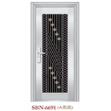 Porta de aço inoxidável para a luz do sol exterior (SBN-6691)