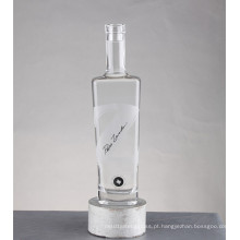 Garrafas de vidro do vinho de Whisky do conhaque