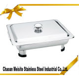 Stainless steel chafing dishes with lid