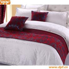 Decoración de Hotel Polyester Bed Runner