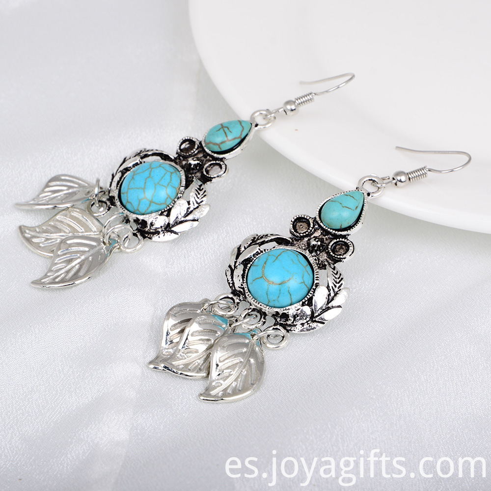 ladies stone earrings