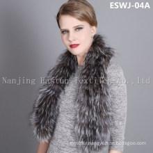 Natural Fox Scarf Eswj-04A