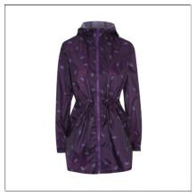 Стильный сыроустойчивых печати пакуемый куртка для женщин