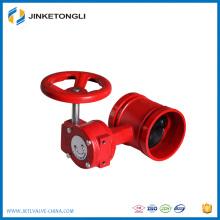 Китай поставщик чугун dn200 санитарный дроссельный клапан