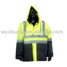 Warnung hohe Sichtbarkeit Jacke