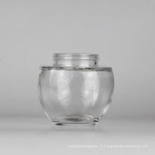 Pot de 250 ml / pot de maçonnerie / récipient en verre / verrerie